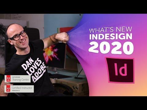 Adobe InDesign CC 2020 New Features & Updates!