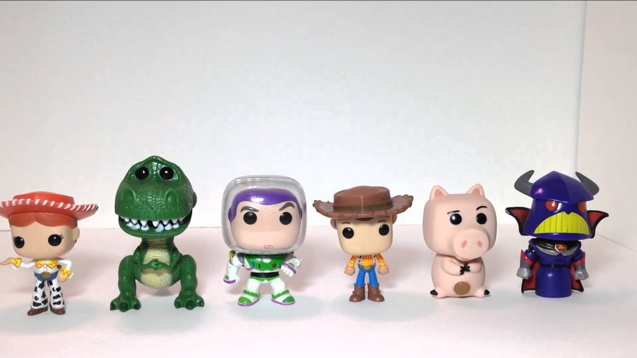 Toy Story Pop Funko Collection - YouTube 87d32703a48