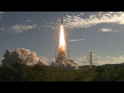 Ariane 5 ES launches Galileo FOC-M8 (Galileo SAT 23-26)