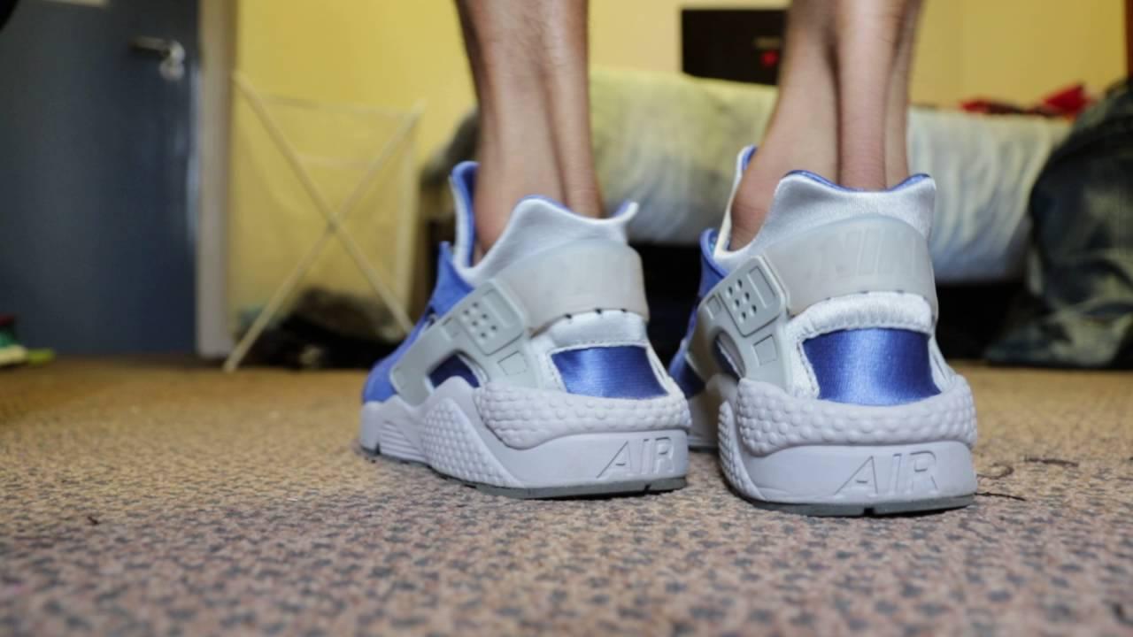 Nike Air Huarache Premium On,Feet