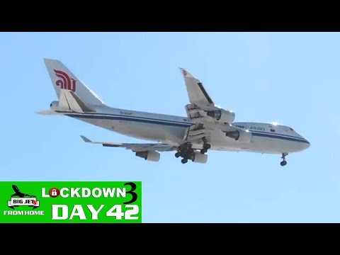 BIG JETS FROM HOME DAY 42 - DAILY UPDATE & SHOW REPLAY - CHICAGO & HEATHROW 2020