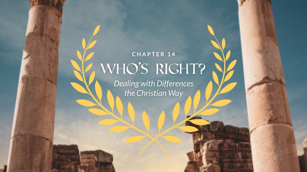 Romans Ch. 14 | Who's Right? (featuring Pastor Ajit Christopher)