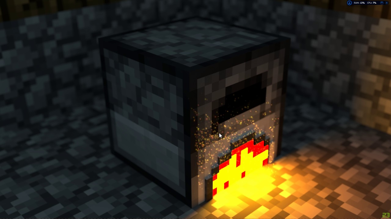 Free 4k Minecraft Furnace Wallpaper Youtube
