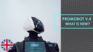 Promobot V.4 - What is new?