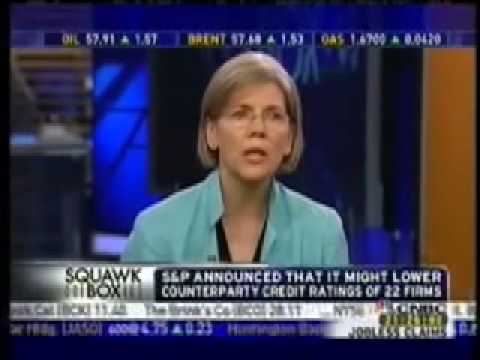 Elizabeth Warren Explains the Financial Mess in Terms Anyone Can Understand!