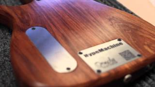 Ormsby Guitars Australia - HypeMachine 2013 Myrtle wood 7 string multiscale