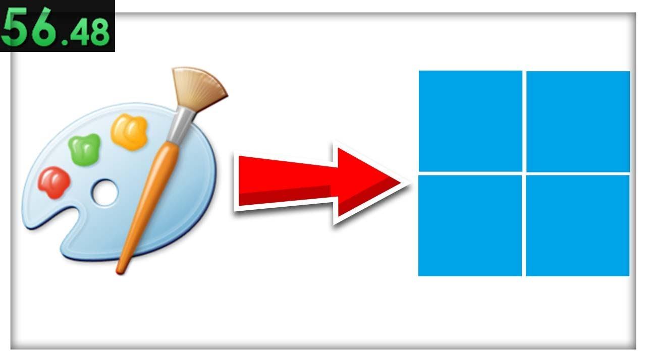 Windows 11 logo speedrun any% | MS Paint