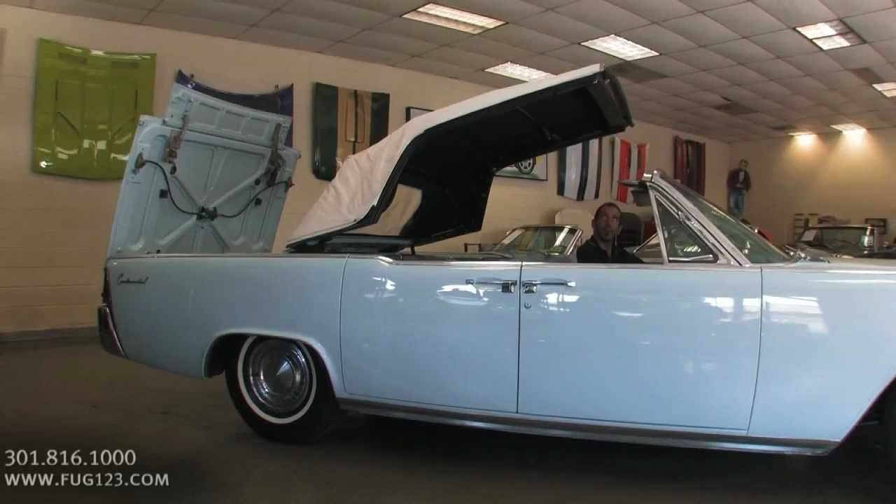 1962 Lincoln Continental For Sale With Test Drive Driving