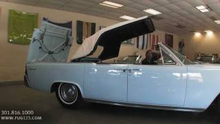 1962 Lincoln Continental  for sale with test drive, driving sounds, and walk through video