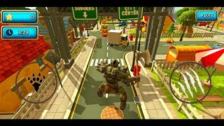 Monster Simulator Trigger City Android Gameplay #9 (ORC)