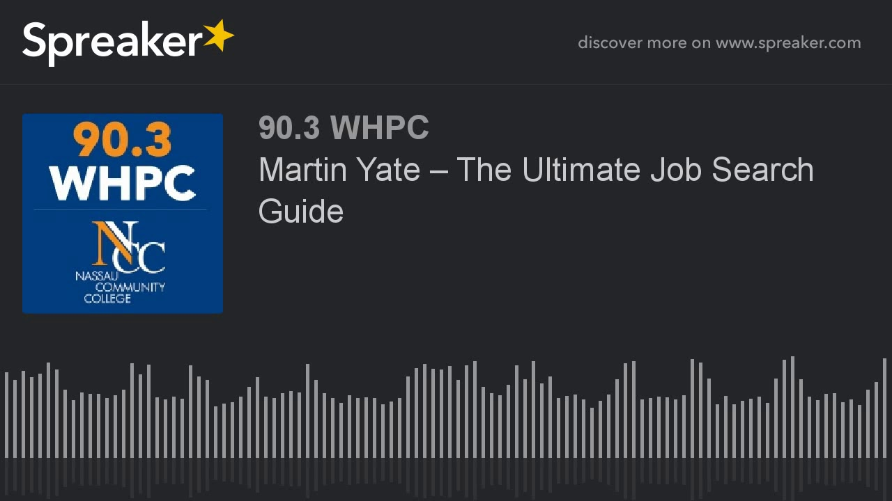Martin Yate U2013 The Ultimate Job Search Guide (part 1 Of 2)