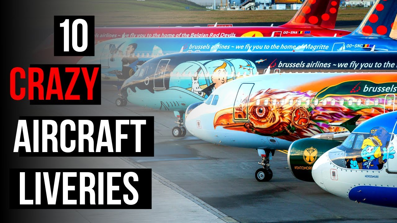 Download Top 10 Aircraft SPECIAL Liveries
