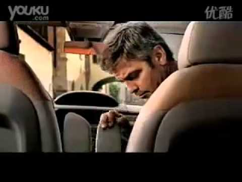 """George Clooney – Fiat IDEA – Auto commercial"""