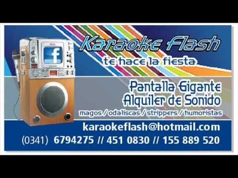 KARAOKE FLASH PUBLICIDAD RADIAL.