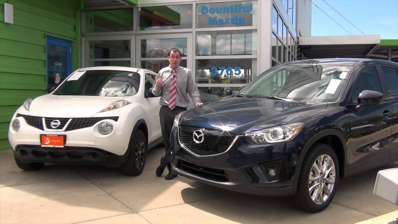 2014 Mazda Cx 5 Ut Vs 2014 Nissan Juke Near Salt Lake