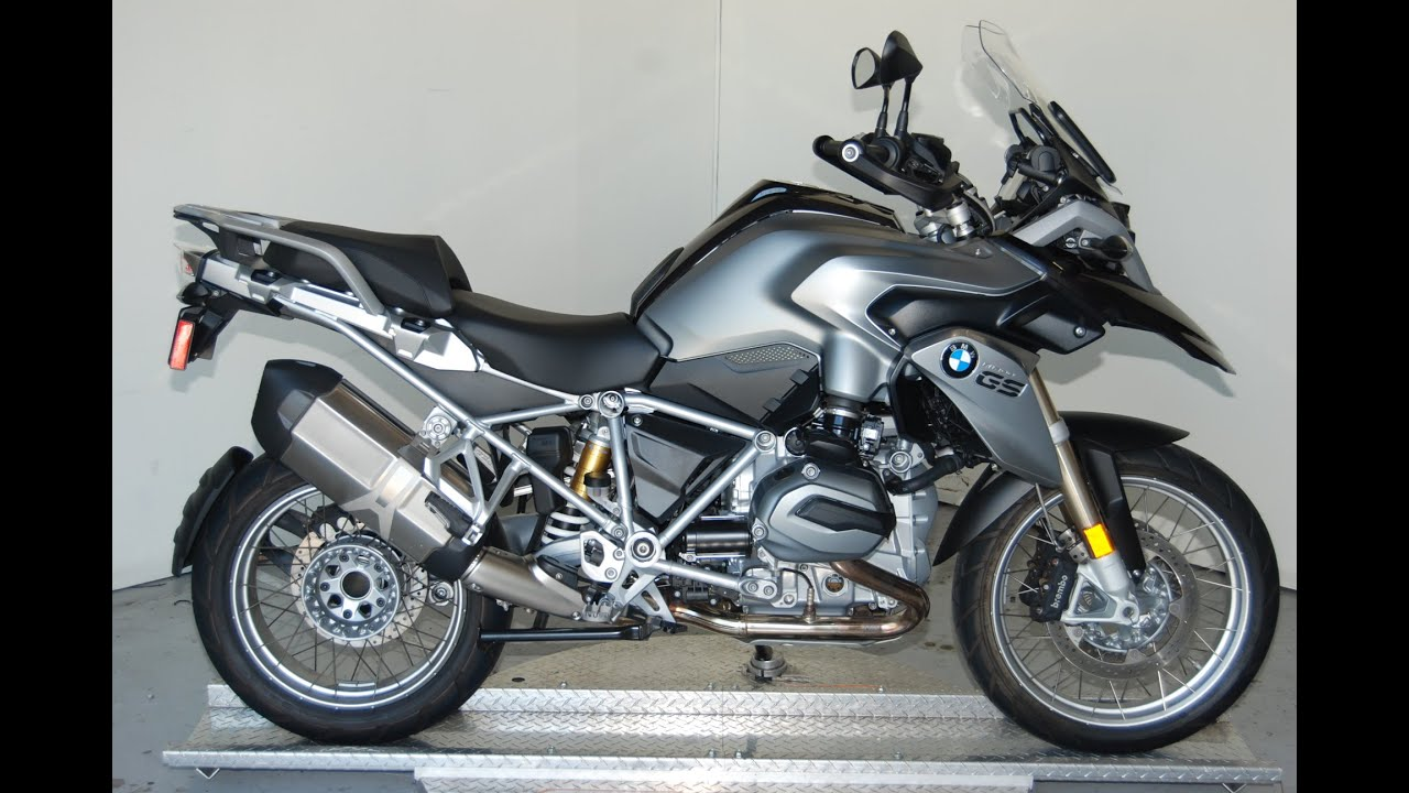 2014 bmw r1200gs in thunder grey quick look listen youtube. Black Bedroom Furniture Sets. Home Design Ideas