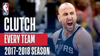 Best Clutch Play From Every Team | 2018 NBA Season