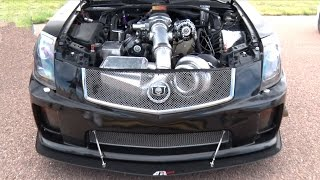 101mm TURBO CTS-V - 1200hp Cadillac!!!