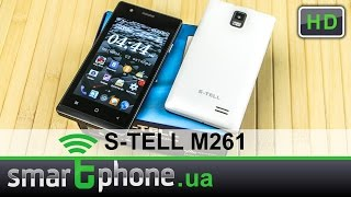 s-TELL M261 - Обзор смартфона