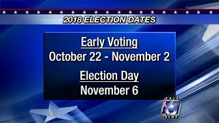 Early voting: Locations, sample ballots and ID information