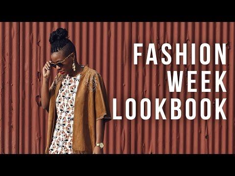 New York, Paris, London, South Africa Fashion Week - LookBook