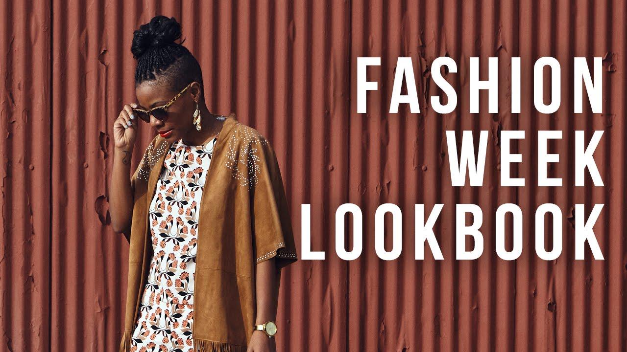 New York Paris London South Africa Fashion Week Lookbook Youtube