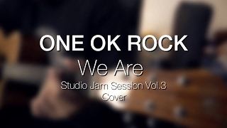 One ok rock - we are (studio jam session vol. 3 (cover) tuning: thickest string to thinnest string. guitar ( db gb b e ab ) bass eb 1/2 step ...
