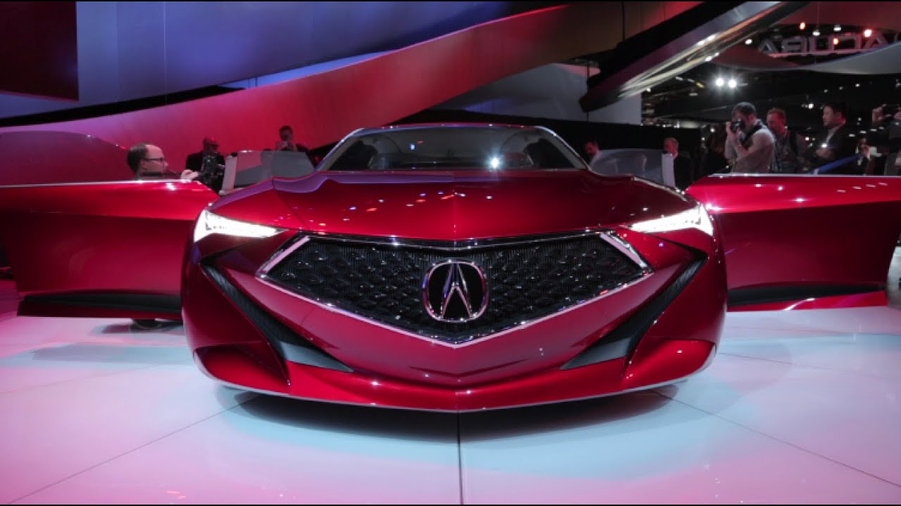Worksheet. Acura Precision Concept  2016 Detroit Auto Show  YouTube