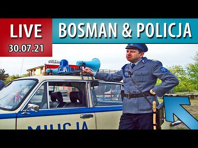 LIVE ➤ Portowe BITWY z Bosmanem POLICJA ODPOWIADA