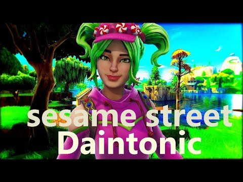 Fortnite Joey Trap -  Sesame Street  (EDIT)