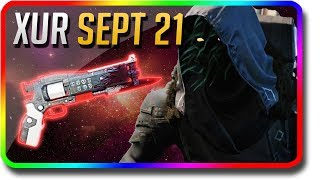 "Destiny 2 - Xur Location & Xur Exotic Inventory ""Crimson"" 9/21/2018 (Xur September 21)"