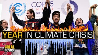 Year in Climate Crisis: Fossil Fuels Expansion, Scary Science and Global Activism
