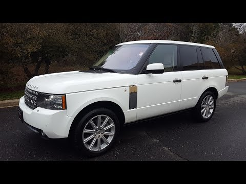2011 Range Rover SC V8 - For Sale - Formula One Imports Charlotte