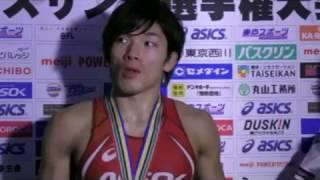 男子フリースタイル74kg級・高谷惣亮(ALSOK)