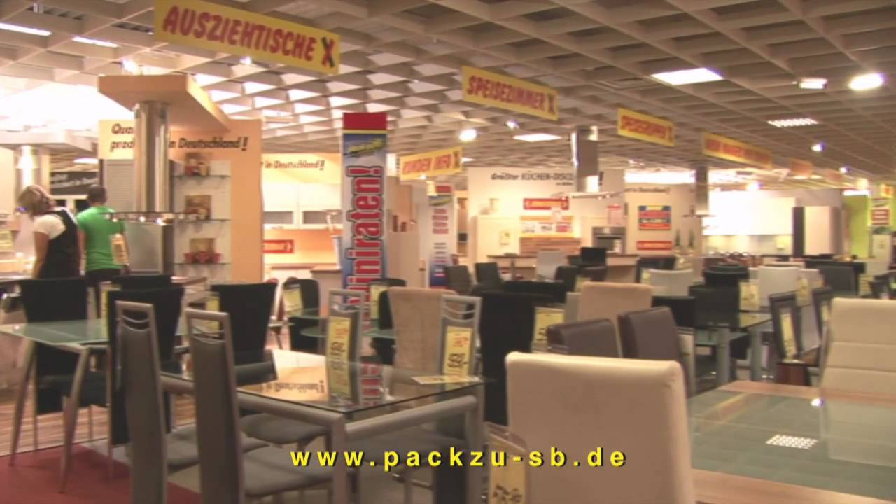 pack zu der m bel sb und k chen discounter youtube. Black Bedroom Furniture Sets. Home Design Ideas