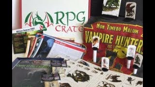 RPG Crate Live Play - Margrave Manor - Dungeons and Dragons 5th Edition