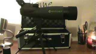 Barska Black Hawk Spotting Scope 20-60x60 Review