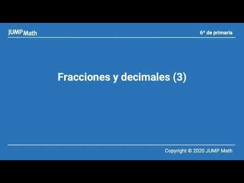6. Unidad 7. Fracciones y decimales III
