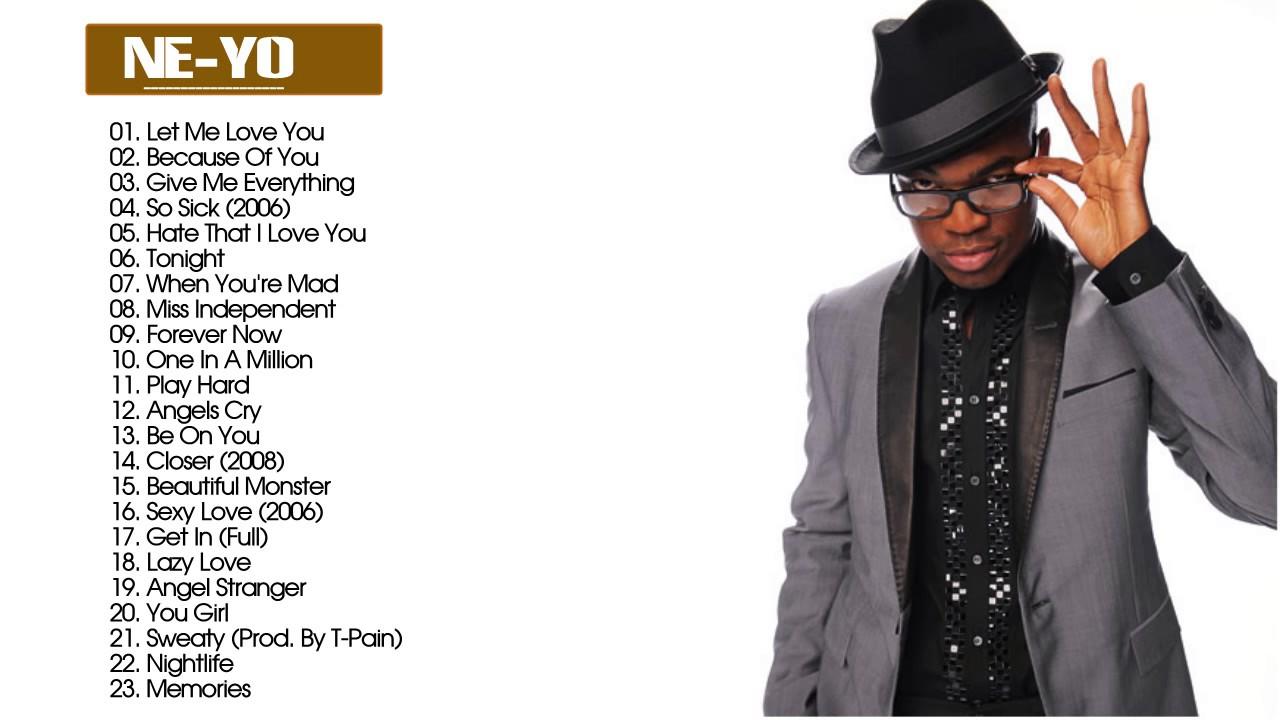 Ne Yo Greatest Hits Collection - Best Songs of Ne Yo - YouTube