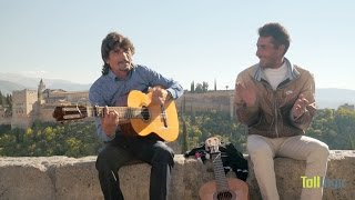 Spanish Music Video Clip at the Alhambra