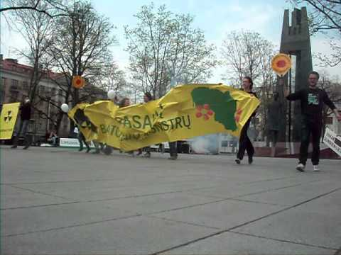 Say no to nuclear - Vilnius, Lithuania