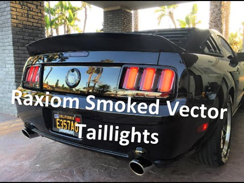 Raxiom smoked vector tail lights 05 09 all install review and raxiom smoked vector tail lights 05 09 all install review and unboxing youtube swarovskicordoba Gallery