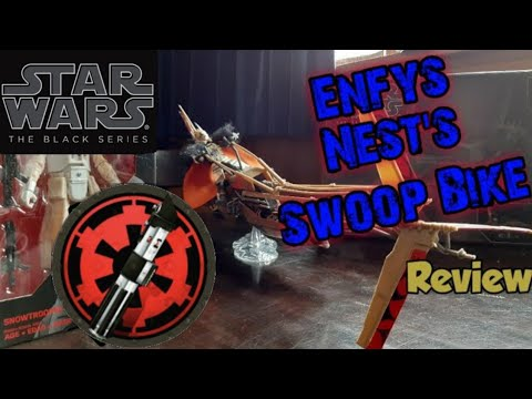 Enfys Nest's Swoop Bike  - Star Wars Black Series Review + Last Chance to WIN a Snowtrooper  !!