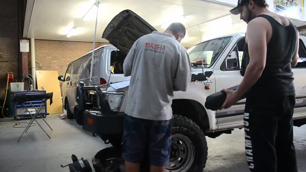 Toyota Hilux Snorkel Install - YouTube