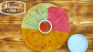 Разноцветные блины за 1 минуту