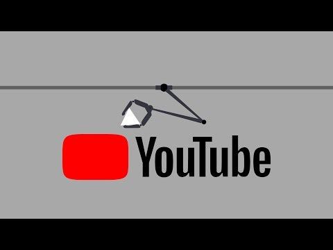 The new Youtube logo - Industrial robot in action