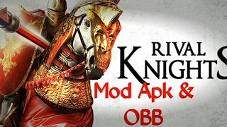 (No Root)Rival Knights Mod Apk & OBB L Unlimited Money All Items Unlocked L Version 1.2.1(Patched)