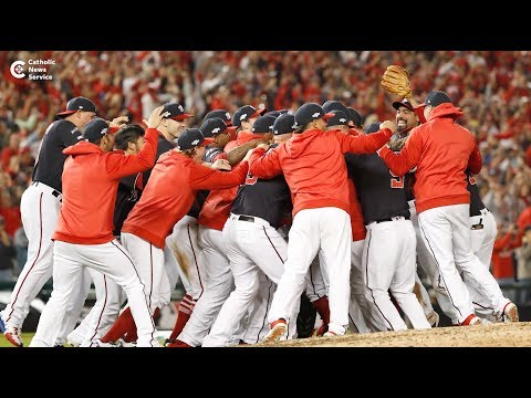 A blessing for the World Series