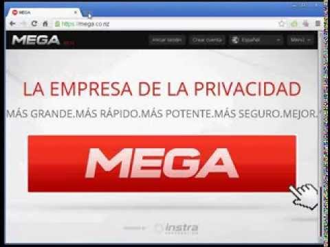 Como crear una cuenta en mega para subir archivos a la red