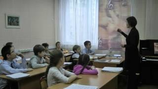 Сольфеджио открытый урок чтение с листа